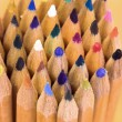 Color pencils close up — Stock Photo