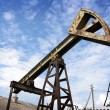 Oil pump jack — Stock Photo #3312393