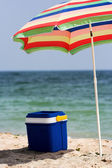 Beach umbrella — Foto Stock