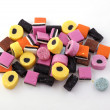 Liquorice allsorts — Stock Photo #2911034
