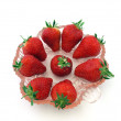 Fresh organic strawberries. — Foto Stock #3064769