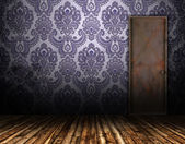 Old interior door — Stock Photo