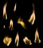 Match Fire Set — Stock Photo