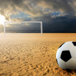 Soccer penalty kick — Stock Photo #2900423