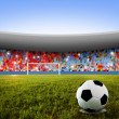 Soccer penalty kick — Stock Photo #3217912