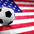 usa soccer — Stock Photo