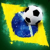 Brazil soccer — Stock Photo