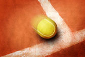 Tennis punkt — Stockfoto