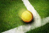 Tennis point — Stockfoto