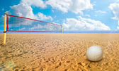 Beach Volley — Stock Photo