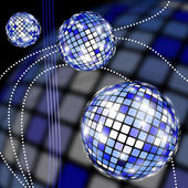 Disco clipart — Stock Photo