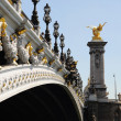 Pont Alexandre 3 - Paris — Stock Photo