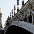 Pont Alexandre 3 - Paris - Stock Photo