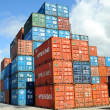 Stockfoto: Containers au port