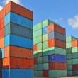 Containers au port — Stock Photo #3466806