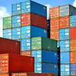Containers au port — Stock Photo #3466837