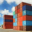 Containers au port - Stock Photo