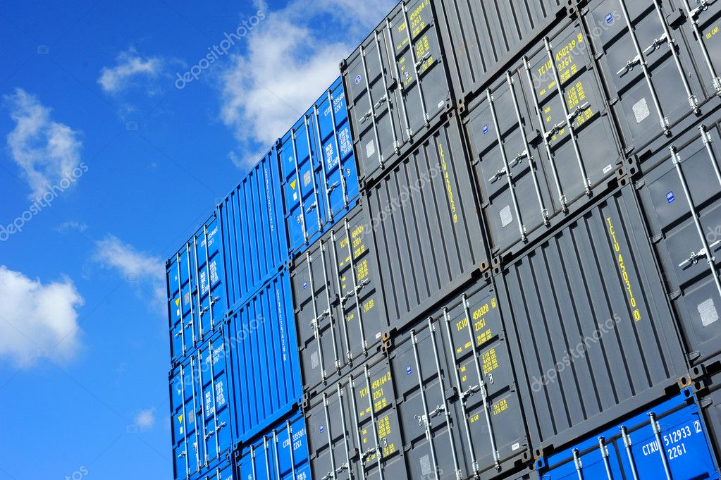 Containers au port — Stock Photo #3466847