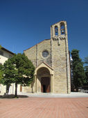 Arezzo - Church of San Domenico. — Stock Photo