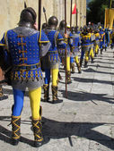 Arezzo - Saracen Joust — Stock Photo