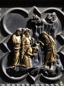 Florence Baptistery - South Portal — Stock Photo