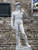 Florence - statue of David by Michaelang — Stock Photo