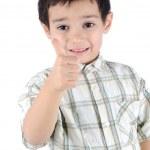 Thumbing kid — Stock Photo