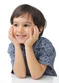 Kid with an idea — Stock Photo