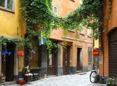 Street in Stockholm, Sweden — Stock Photo