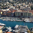 Nice harbour and city view, France — Stock Photo #2859129