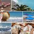 Stock Photo: Resort collage4, beach