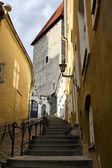 Old Tallinn street, Estonia — Stock Photo