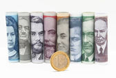 Changeover to the euro in Estonia — Stock Photo