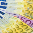 European notes - Stock Photo
