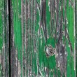 Stock Photo: Green Crackled Wood Texture