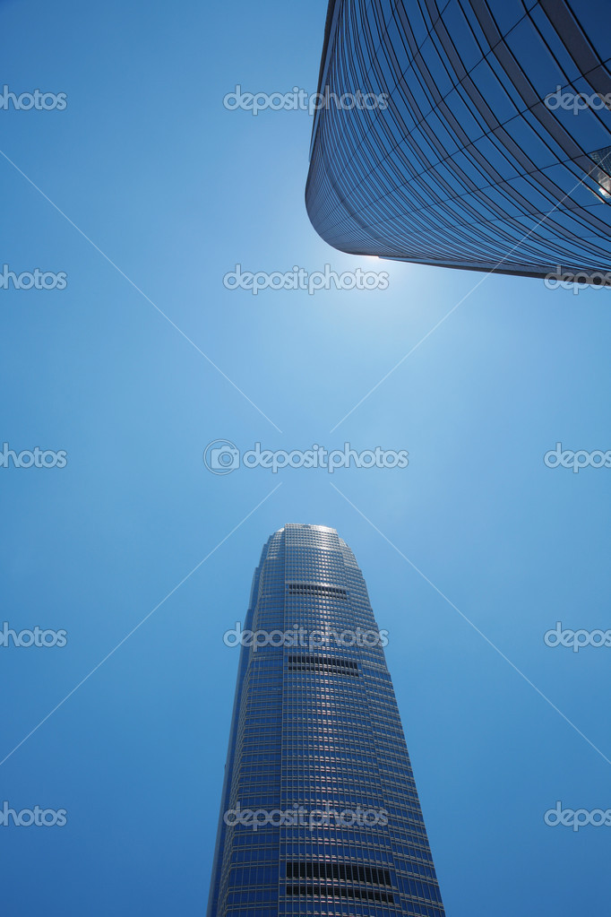 Corporate buildings in perspective — Stock Photo #2918430