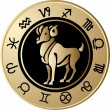 Horoscope Aries — Vetorial Stock #2709563