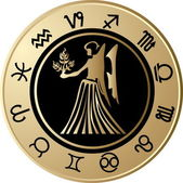 Horoscope Virgo — Stock Vector