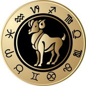 Horoscope Aries — Vetorial Stock