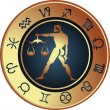 Stockvector : Horoscope Libra