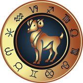 Horóscopo áries — Vetorial Stock