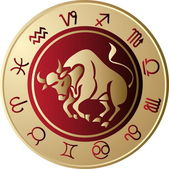 Horoscope Taurus — Vetorial Stock