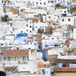 View on  chefchaouen, in north of morocc — Stock Photo