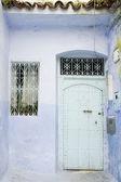 Very old wooden door of Morocco — Foto Stock