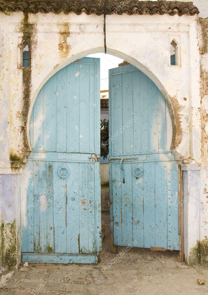 Très vieille porte en bois du Maroc — Photographie jelen80  ~ Vieille Porte En Bois A Vendre