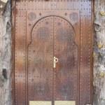 Very old wooden door of Morocco — Stock Photo #3058904