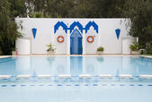 Swimming pool in Fes, Morocco — Foto de Stock