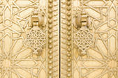 Traditional vintage detail of door, Morocco — Stock Photo