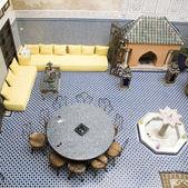 The hotel's interior, Morocco, — Stock Photo