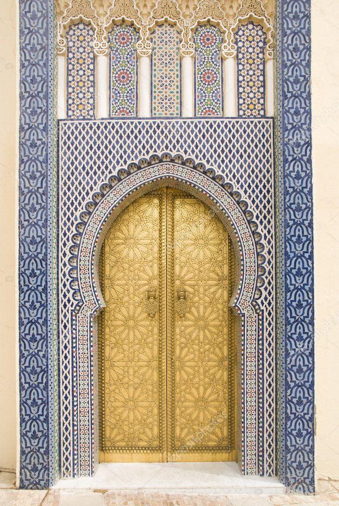 Z ote drzwi w f s drzwi pa ac kr lewski zdj cie for Decoration porte orientale
